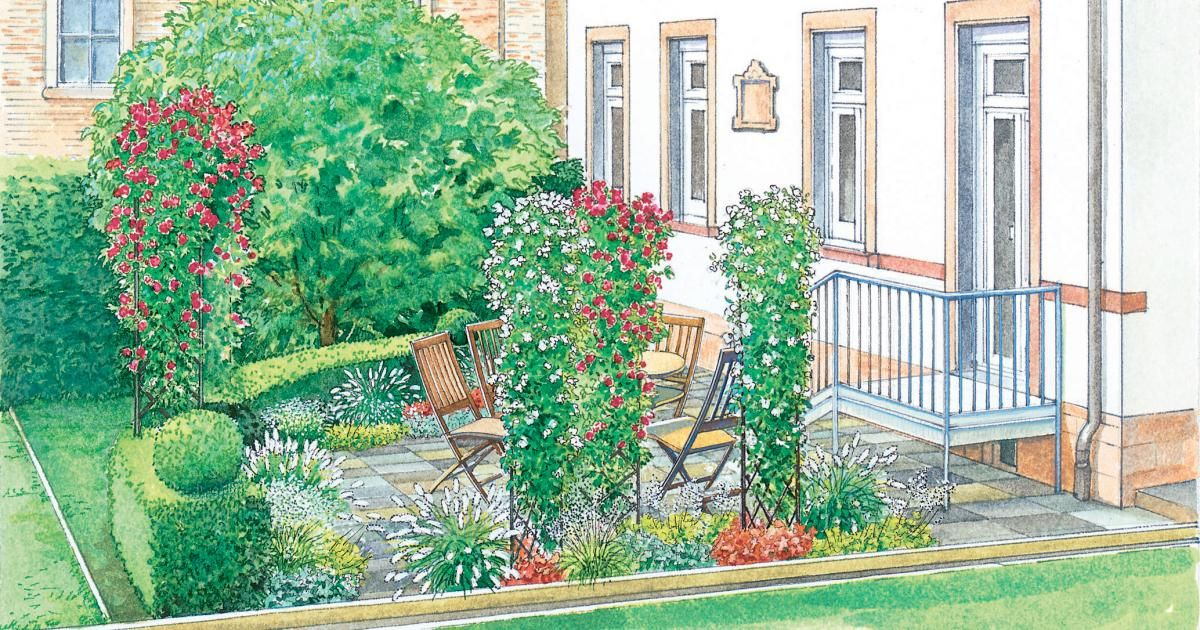 Terrassen anlegen, planen, gestalten