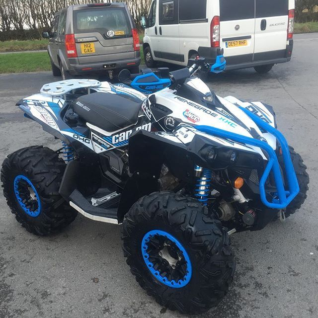Can-am Renegade 1000 xxc in white and blue #OHGQuads # ...