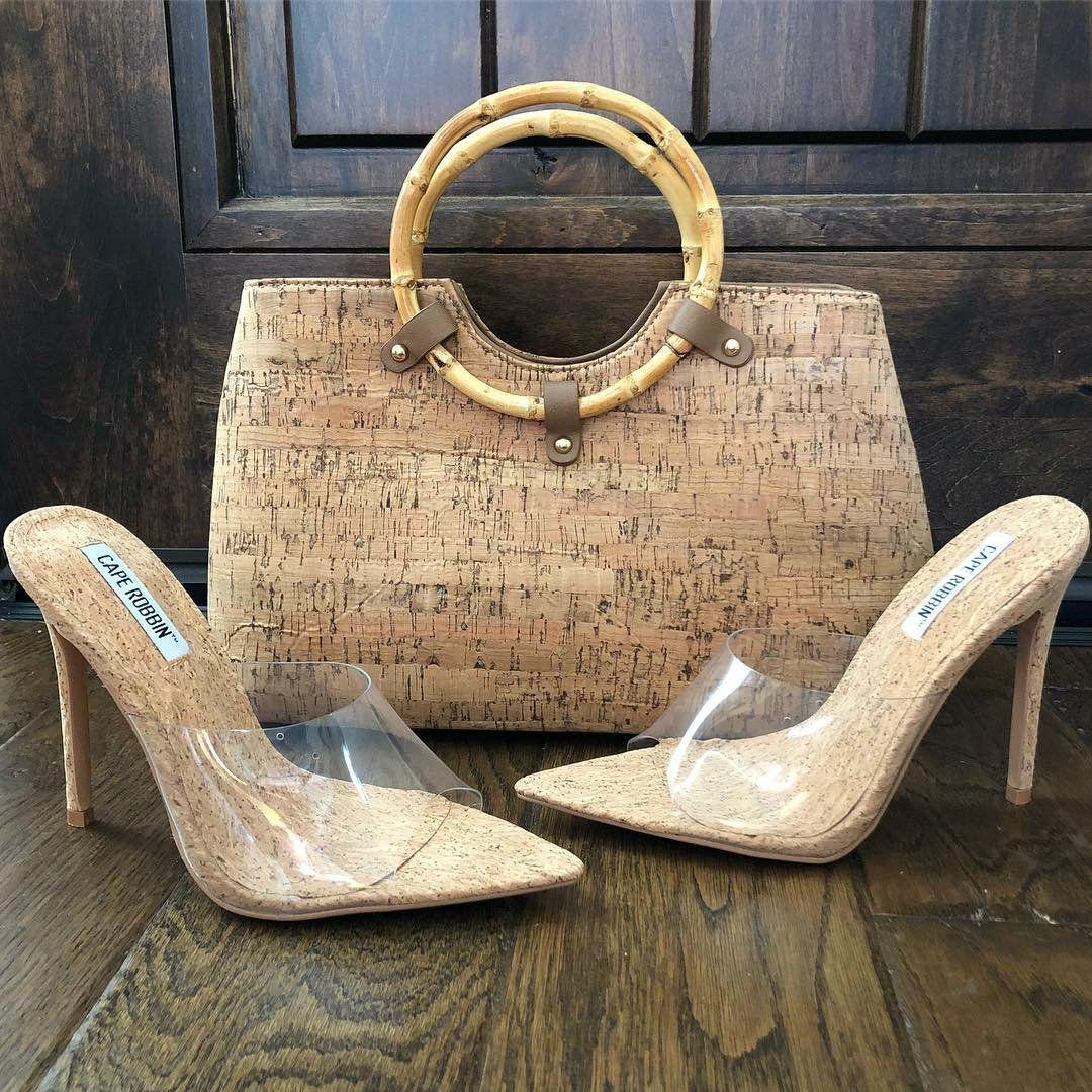 305364b33e4 Clear Open Toe Cork Sandal Heels | Stiletto Heels | Cork sandals ...