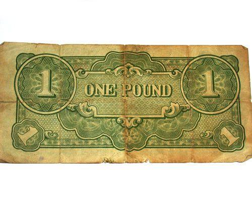 JAPANESE INVASION MONEY 1943 FOR AUSTRALIA   T 181  japanese  occupation paper money