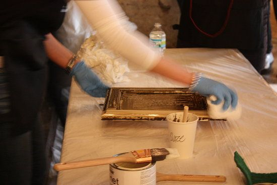 refinish your kitchen cabinets with one easy product  diy