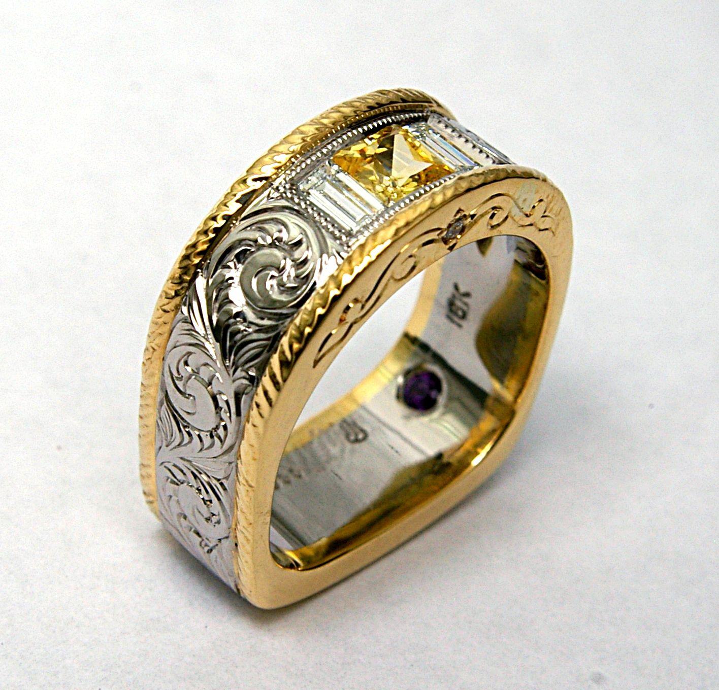 Custom Wedding Ring Maker Western wedding rings, Custom