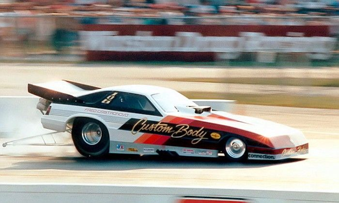 Custom Body Dodge Daytona Al Segrini driver Funny car