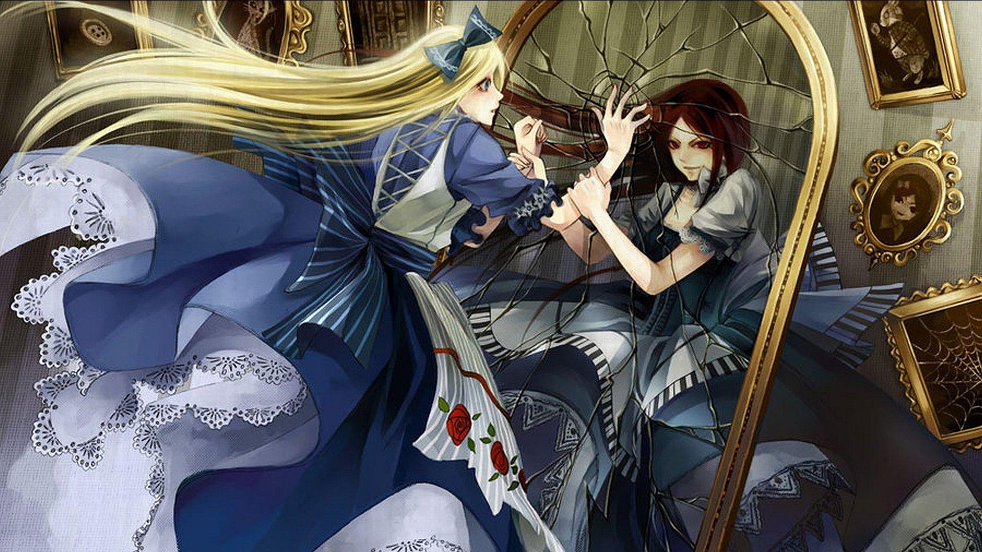 Alice Wonderland Anime Upscaled Wallpaper 2866934 Wallbase Cc