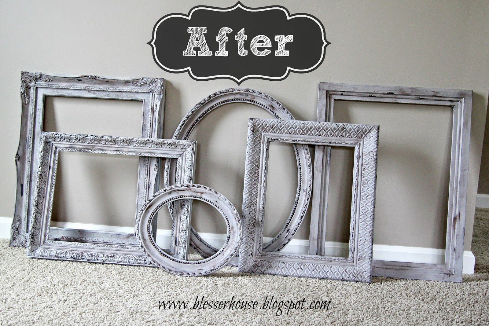 Can You Chalk Paint Plastic Picture Frames | Framejdi.org