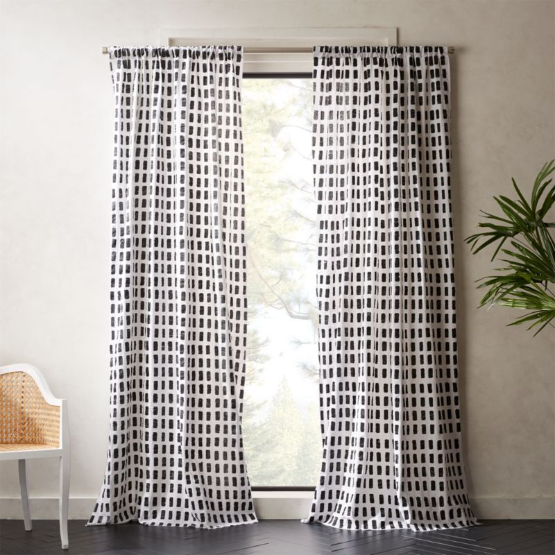 Korben Plaid Curtain Panel In 2020 Plaid Curtains Panel