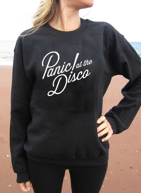 Panic At The Disco Sweater Sweatershirt Unisex By Kiddingshop Want