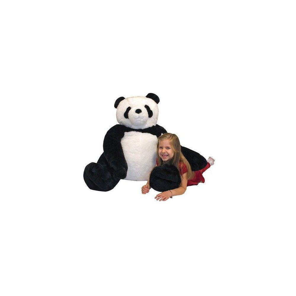 Melissa Doug Giant Panda Bear Lifelike Stuffed Animal Over 2 Feet Tall Teddy Bear Stuffed Animal Panda Stuffed Animal Big Stuffed Animal