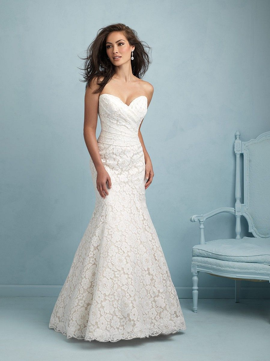 The Allure Bridals 9210 wedding dress is the perfect gown for the ...