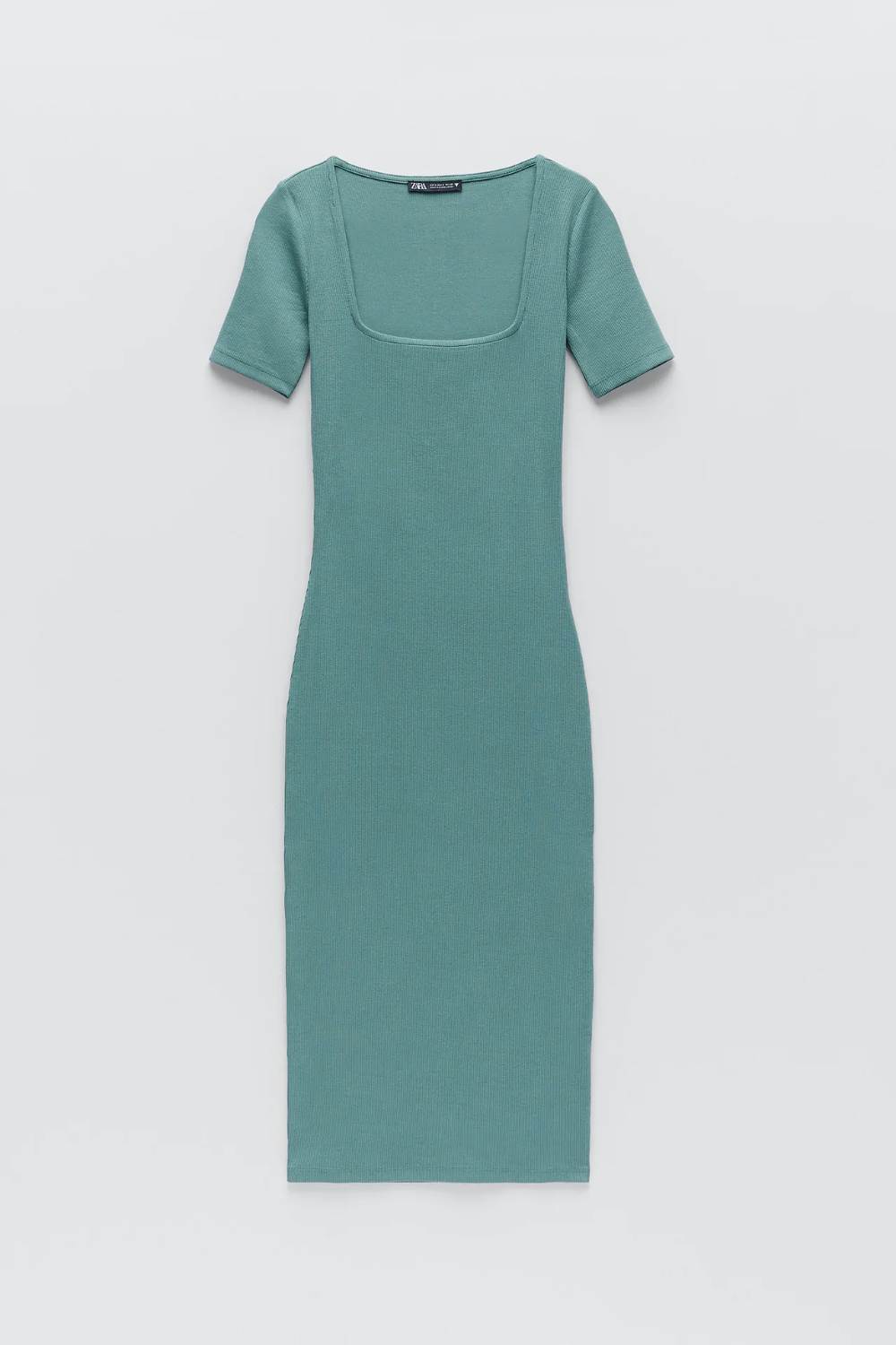 Fitted Ribbed Dress Zara United States Fitted Ribbed Dress Dresses Clothes [ 1500 x 1000 Pixel ]
