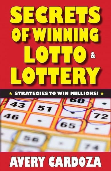 This concise easy-to-read book is perfect for the tens of millions of players who play lottery and lotto games weekly and want to win millions of dollars! This concise easy-to-read book is perfect for