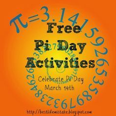 Great collection of FREE Pi Day resources!