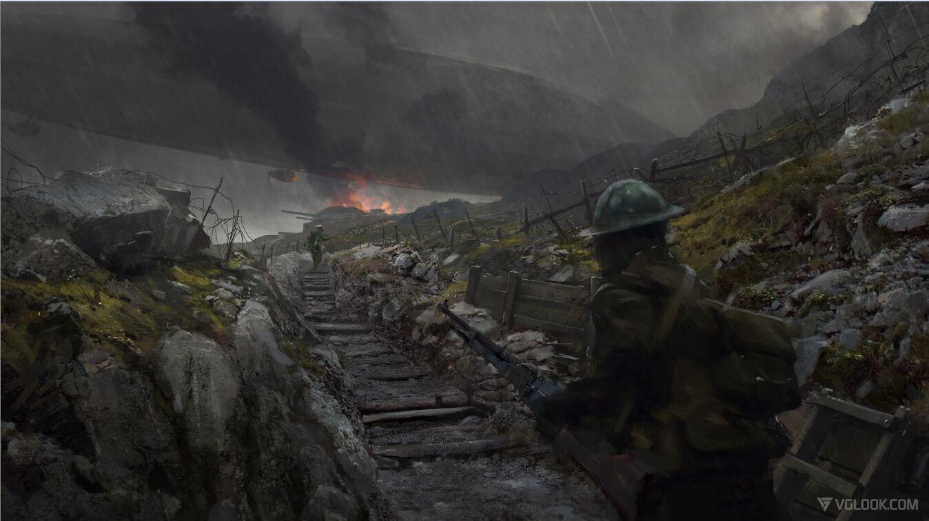 Battlefield 1 Concept Art Is Stunning Battlefield 1 Battlefield