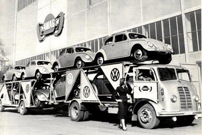 VW Hauler... Auto Transport circa 1950