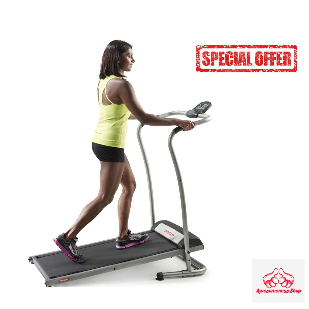 Treadmill Machine Folding Incline Cardio Fitness Exercise Portable