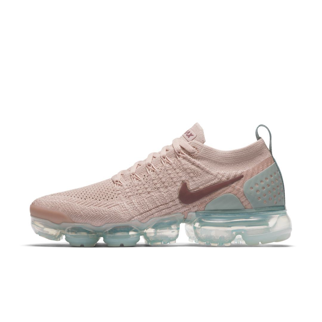 on sale 2bdb0 7a136 Nike Air VaporMax Flyknit 2 Women s Shoe Size 8 (Particle Beige)