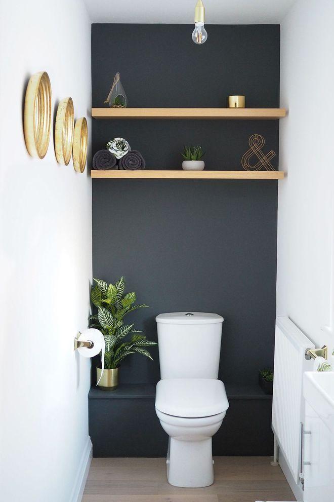 Rangement WC : idées pratiques pour toilettes   Wohnung   Toilet ...