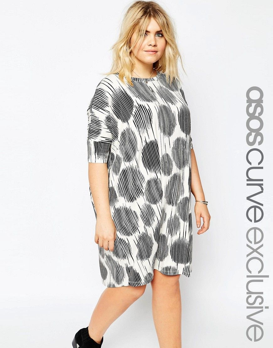 Cool In Dress Curve Print Super Sketchy Shirt T Asos Spot SxwpSAdq