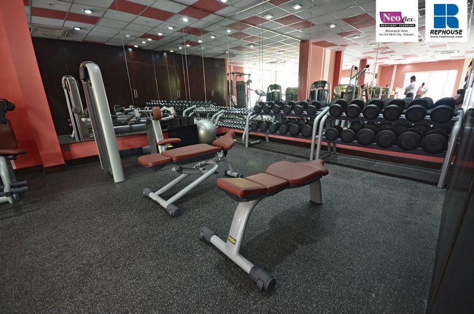Neoflex 500 Series Rubber Fitness Flooring Hotel