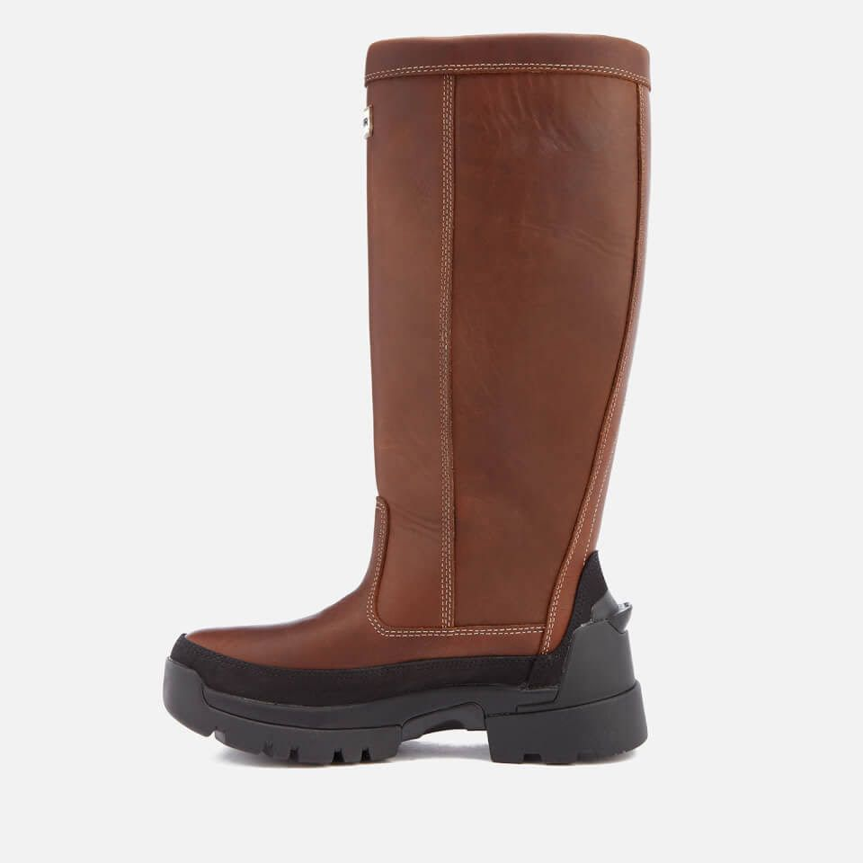Discount Best Prices Buy Cheap Best Place Hunter Women's Balmoral Leather Boots Manchester Great Sale For Sale COriiMA609