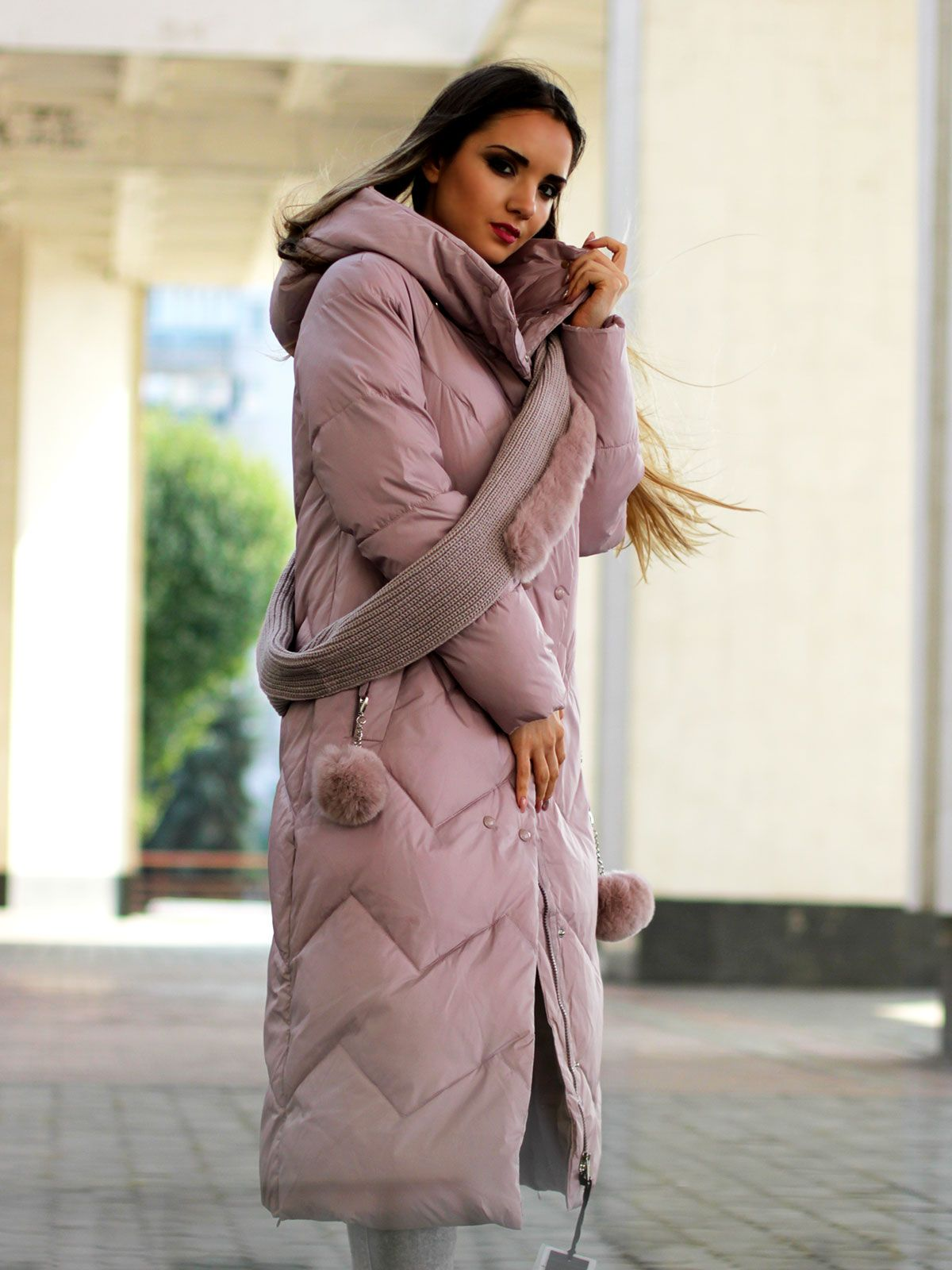 Пуховики пальто новой коллекции Бренд  Dibu Размер  42-50 Сезон  осень – 70674b53ae2