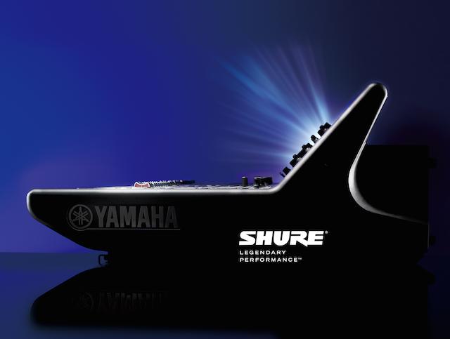 Shure tiivistää langattomien järjestelmien integraatiota Yamahan digimiksereiden kanssa | Riffi