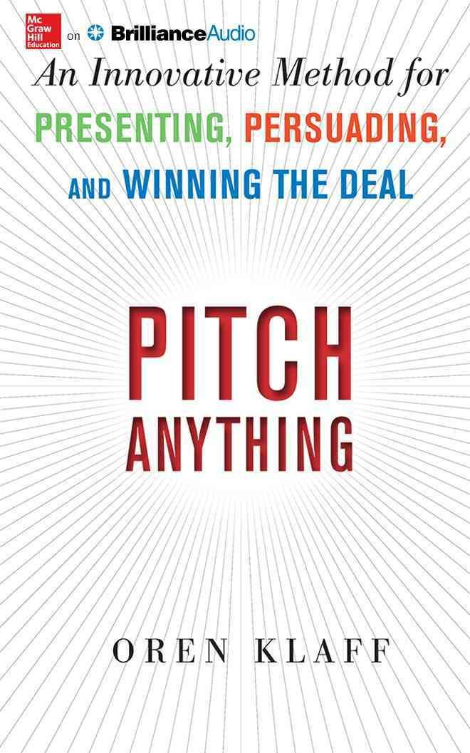 pitch anything: an innovative method for presenting, persuading, Presentation templates