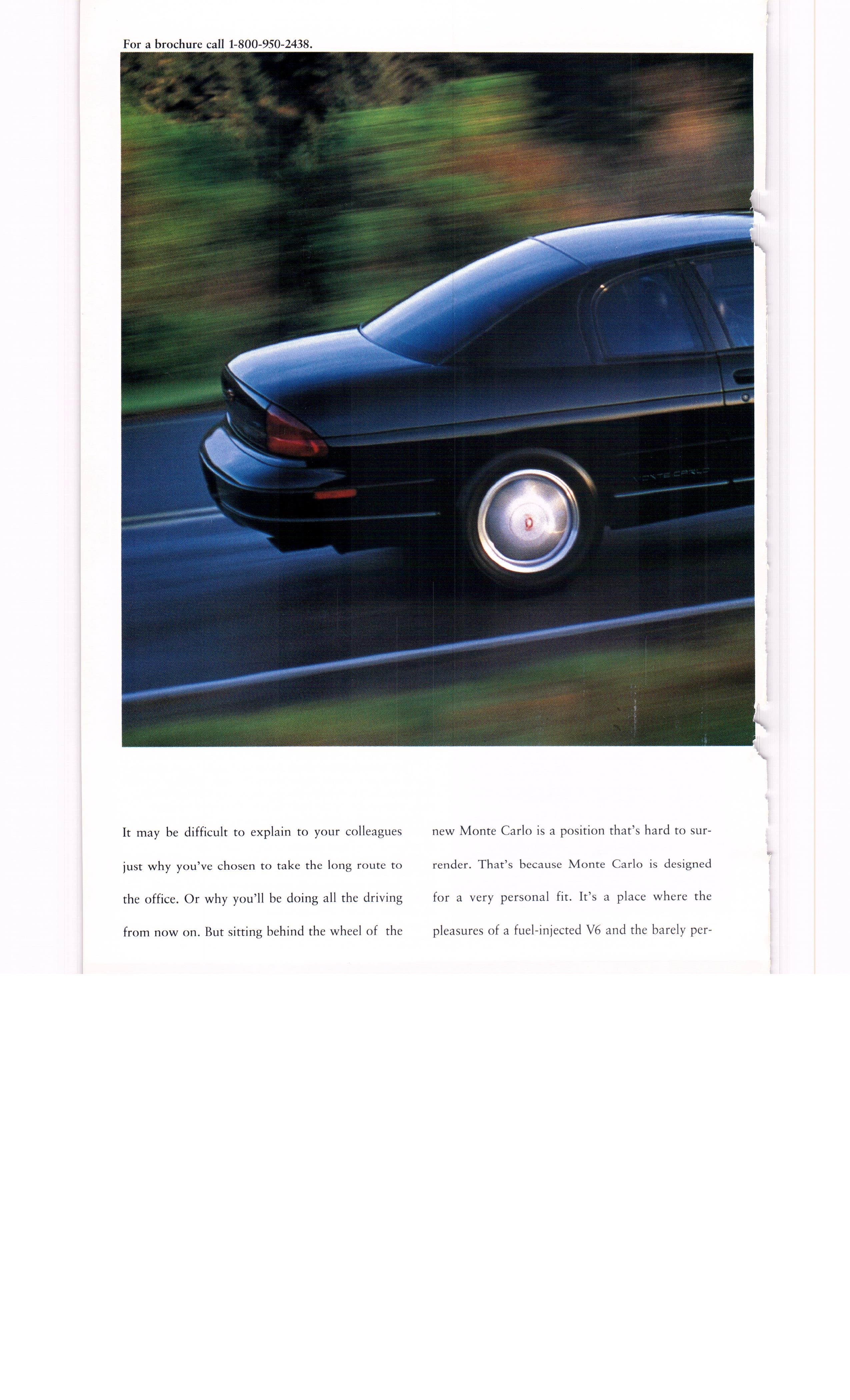 1994 chevy monte carlo ad2 national geographic september 1994 [ 2550 x 4200 Pixel ]