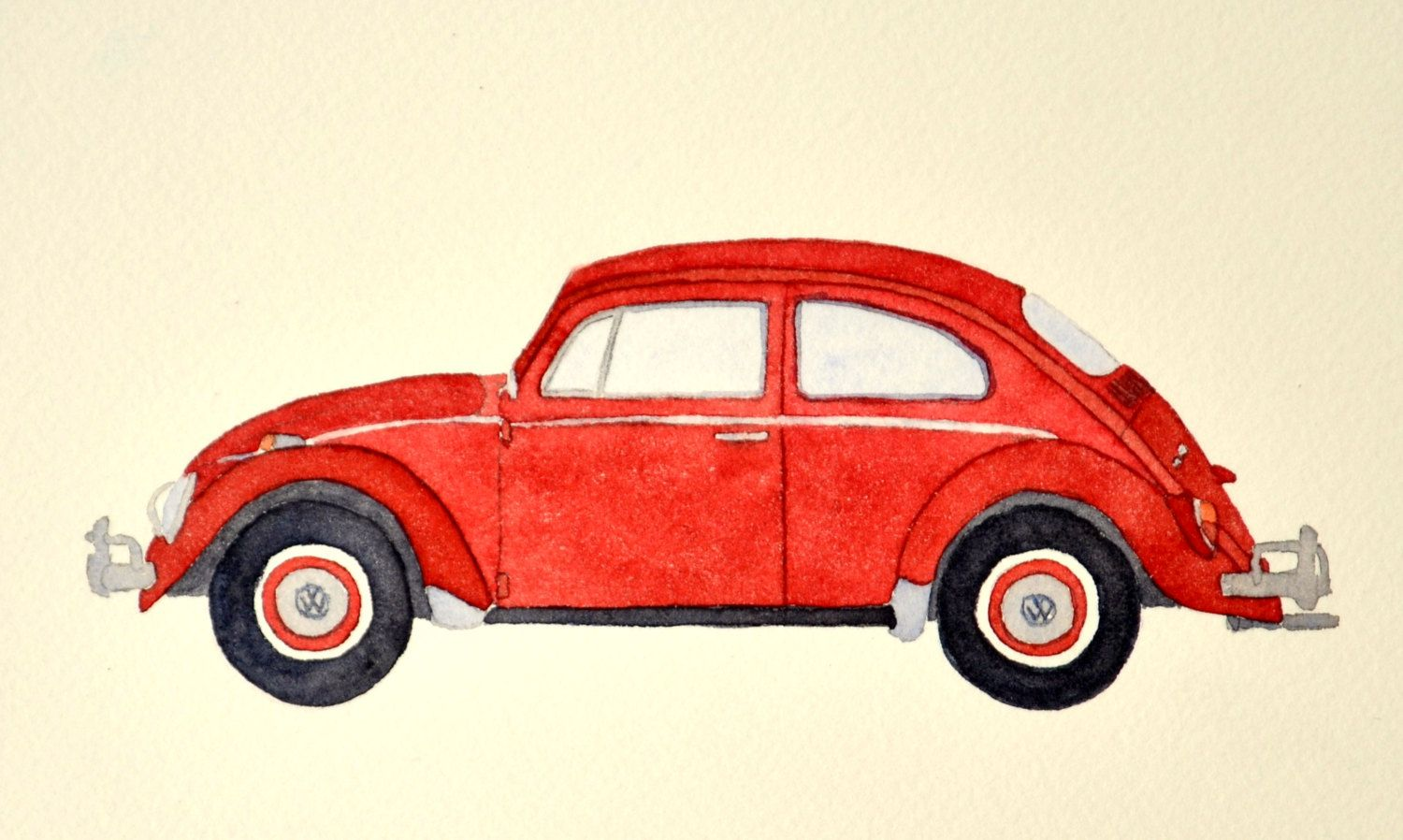 VW BEETLE BUG CAR PENCIL CASE CHOICE OF COLOUR CAN BE PERSONALISED