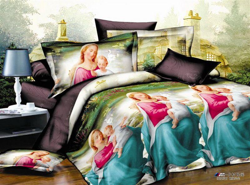 Rural Folk Bedding 3D Duvet Cover Set