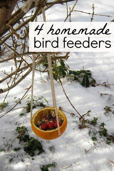 4 Bird Feeders Kids Can Make After School Activities Adventures