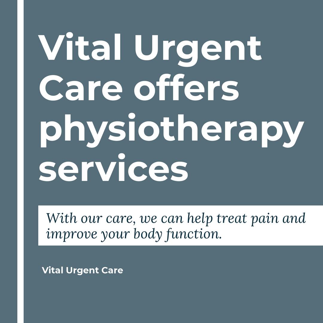 Pin on Vital Urgent Care