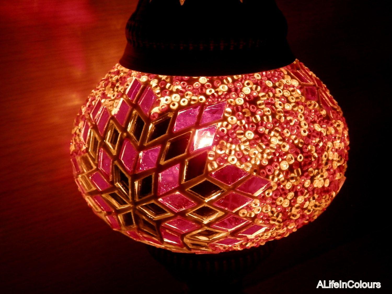 Turkish handmade colourful glass mosaic table lamp bedroom night turkish handmade colourful glass mosaic table lamp bedroom night lamp night light kids geotapseo Gallery