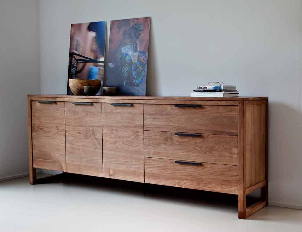 Sideboards Real Wood Sideboard Wooden Sideboard Long Rectangular Modern Rustic Wooden Credenza With D White Buffet Table Teak Sideboard Contemporary Sideboard