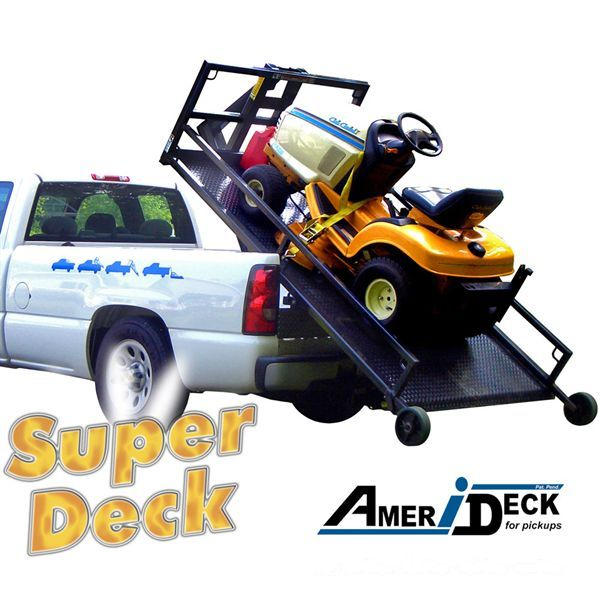 The Superdeck Truck Platform Enables You To Haul Lawn