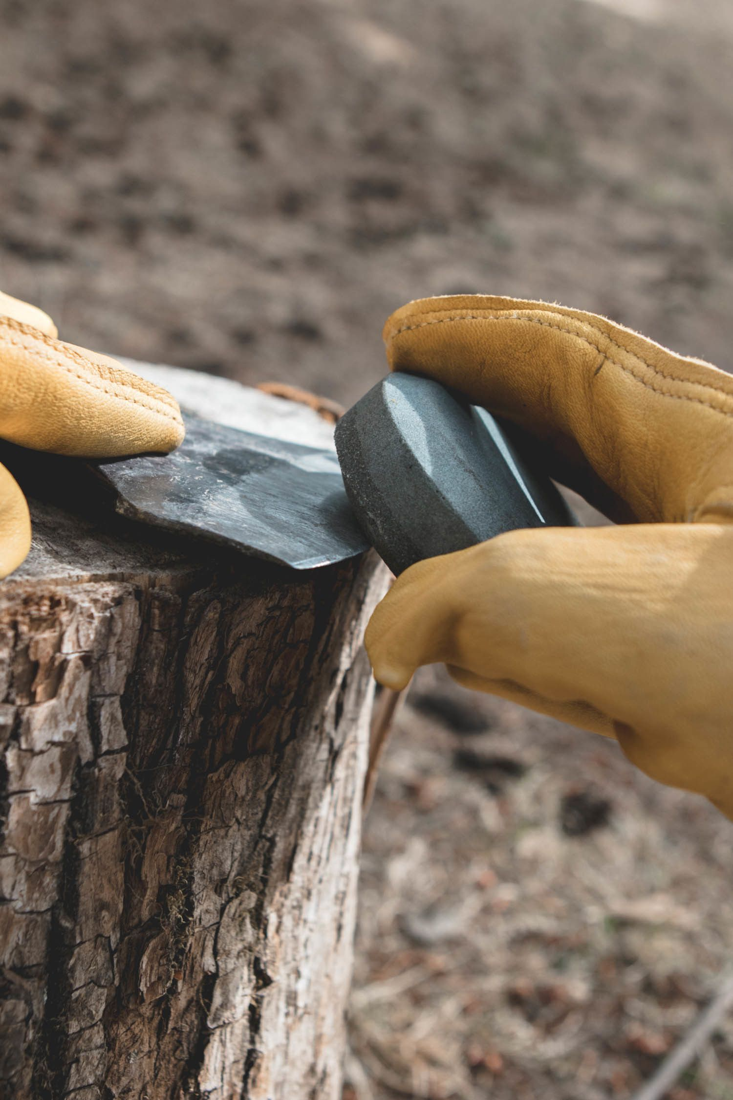 How to Sharpen and Care For Your Axe in 2020 Wood axe