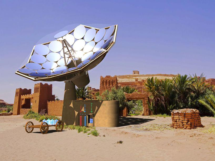 Sunflower Solar Panels Provide Electricity Heat To Remote Locations Solar Solar Energy Diy Renewable Energy