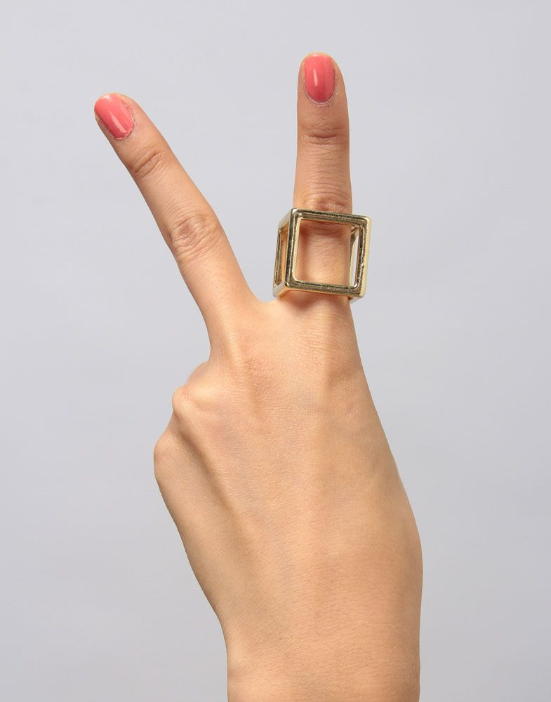peace and love and this killer ring.