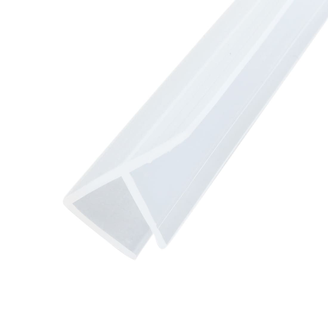 39 Inch F Shaped Frameless Window Shower Door Seal Clear For 3 8