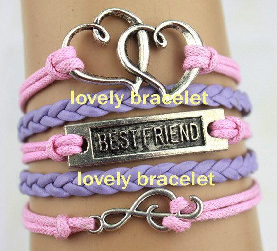 Music bracelet Heart bracelet Best friend by lovelybracelet, $4.99