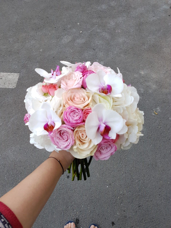 Buchet Diafan Cu Orhidee Buchete Mireasa Pinterest Wedding