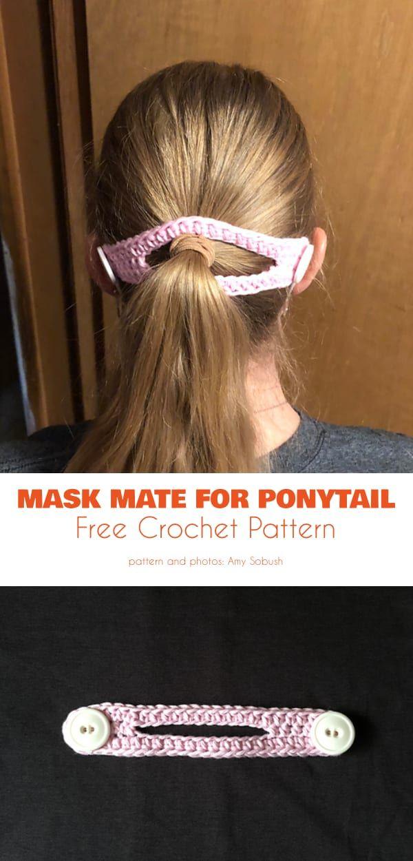 Variety of Mask Helper Free Crochet Patterns