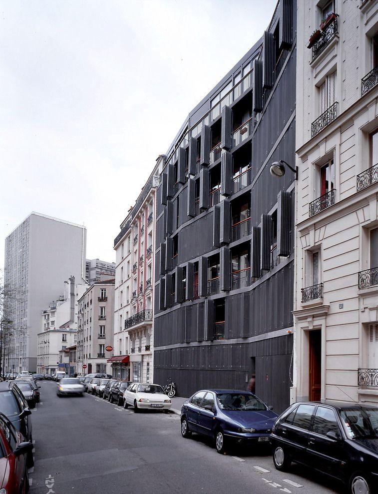 subtilitas:  Herzog & De Meuron - Rue de Suisses apartments, Paris 2000. Photos (C) Margherita Spiluttini.