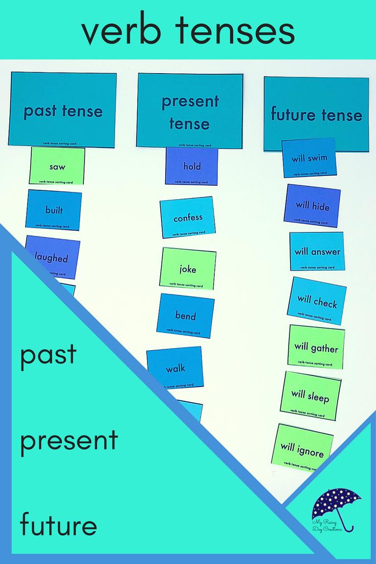 Simple Verb Tenses | Verb tenses, Worksheets and Activities