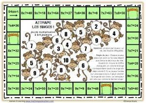 des jeux pour réviser les tables de multiplication math and