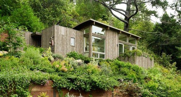 Mill valley cabins par feldman architecture cabanes pinterest maison familiale studio et - Maison de campagne familiale darryl design ...