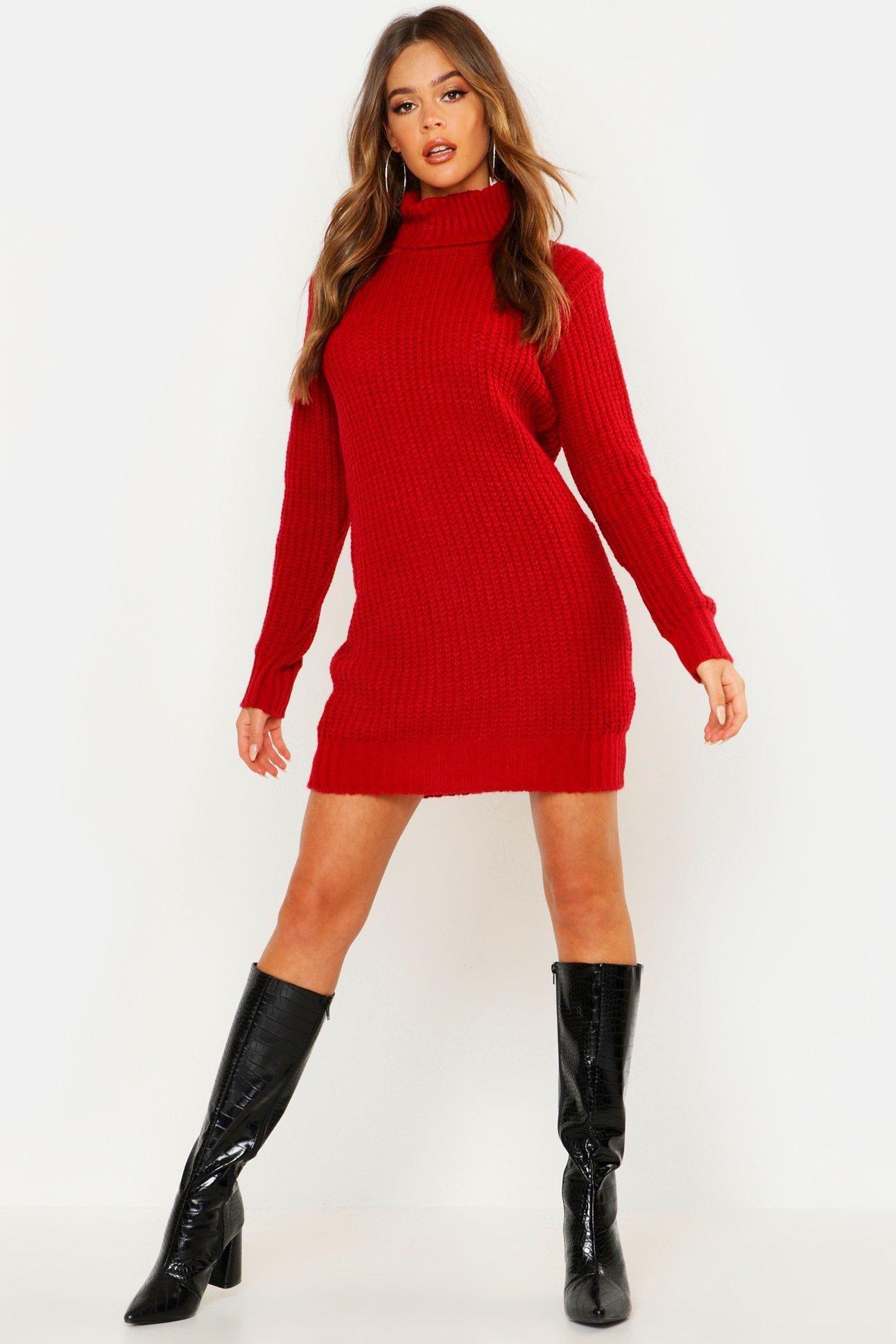 40++ Red sweater dress ideas in 2021