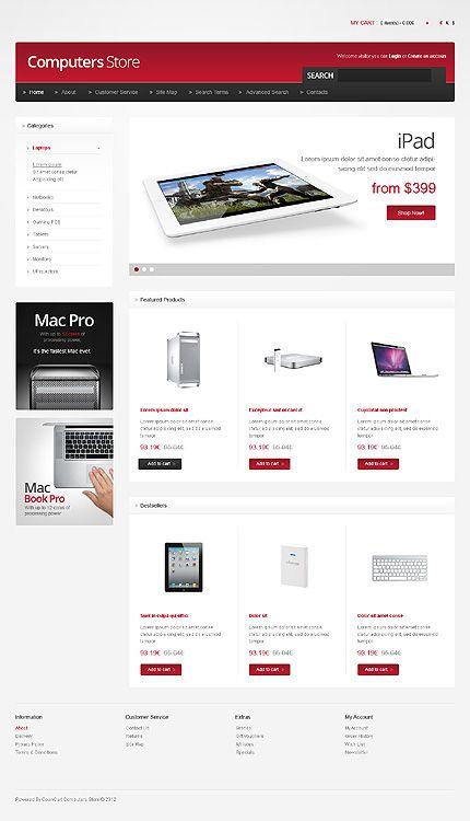 Шаблон TM40942 Тип: Шаблоны OpenCart $140 | Templates | Pinterest ...