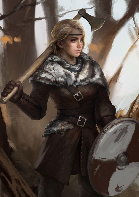 Madierde Viking  Warrior Girl By Yangzheyydeviantart -2175