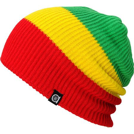 da49a323b9a The Aperture Roberto knit beanie is a light knit slouchy beanie for the  irie side of a life! With thick red